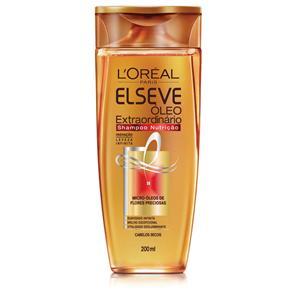 Shampoo Elseve Óleo Extraordinário Nutrição - 200 Ml