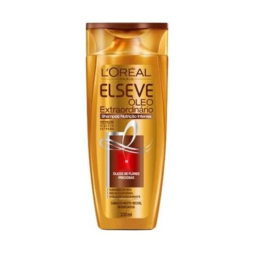 Shampoo Elseve Óleo Extraordinario Nutrição - 200 Ml