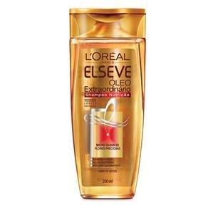 Shampoo - Elseve Óleo Extraordinário Nutrição - 200ml