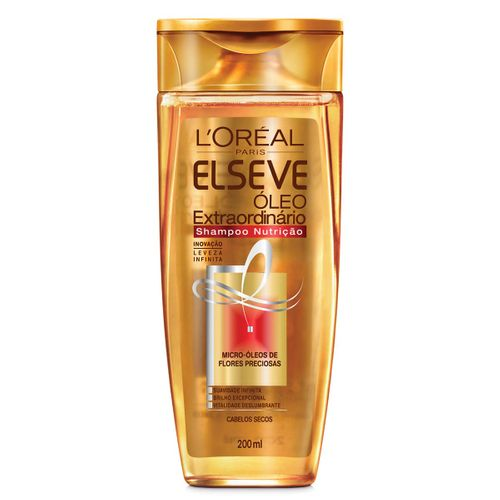 Shampoo Elseve Óleo Extraordinário Nutrição 200ml