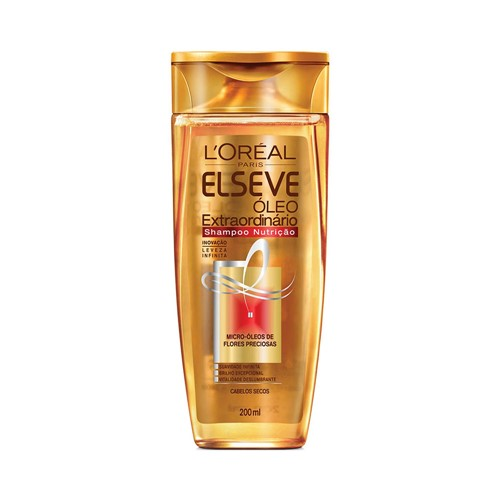 Shampoo Elseve Óleo Extraordinario Nutrição 200ml