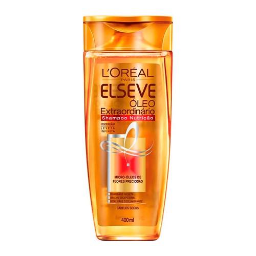 Shampoo Elseve Óleo Extraordinário Nutrição com 400ml
