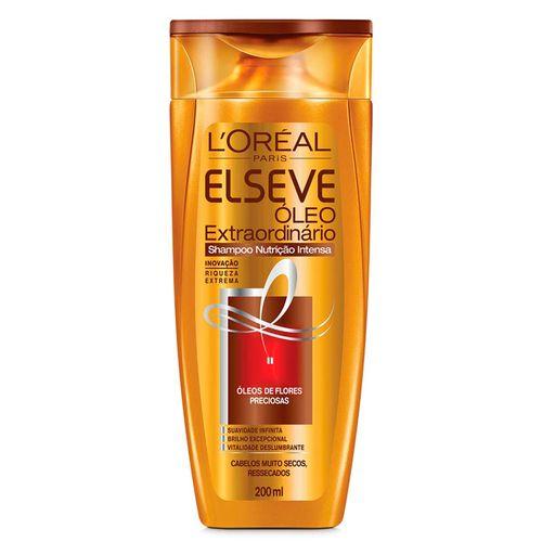 Shampoo Elseve Óleo Extraordinário Nutrição Intensa - 200ml
