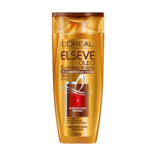 Shampoo Elseve Óleo Extraordinário Nutrição Intensa com 200ml
