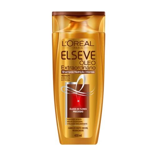 Shampoo Elseve Óleo Extraordinário Nutrição Intensa com 400ml
