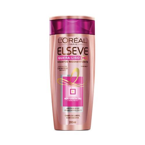 Tudo sobre 'Shampoo Elseve Quera Liso 200ml'