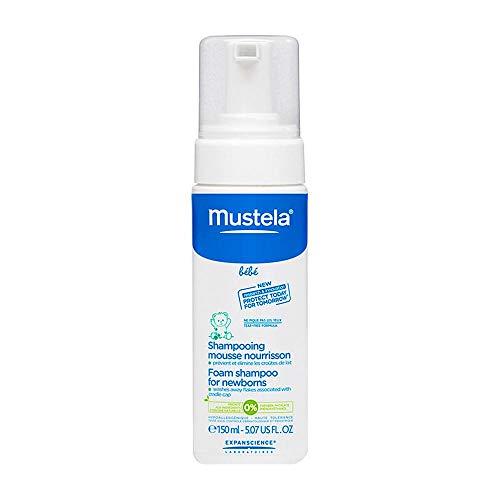 Shampoo Espuma Mustela Recém-nascido com 150ml