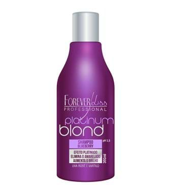 Tudo sobre 'Shampoo Forever Liss Platinador Blond Matizador 300ml'