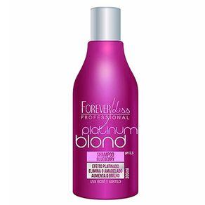 Shampoo Forever Liss Professional Platinum Blond Matizador 300ml