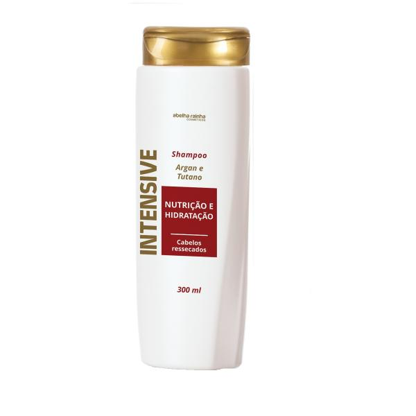 Tudo sobre 'Shampoo Fortalecedor com Argan e Tutano Intensive Abelha Rainha 300ml'