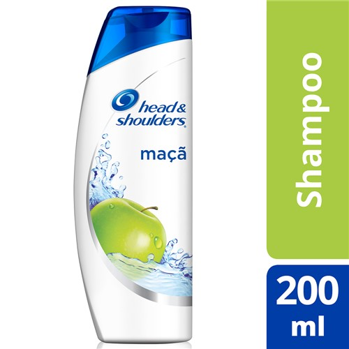 Shampoo Head & Shoulders Maçã com 200ml