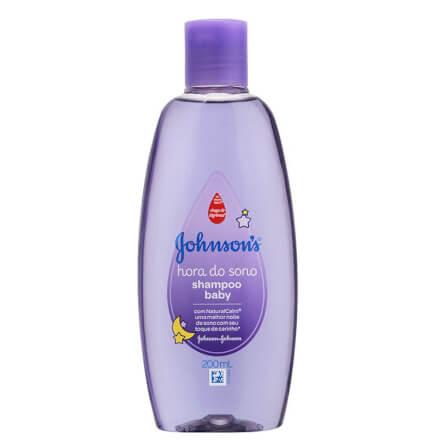 Shampoo Hora do Sono 200ml - Johnson Johnson Baby