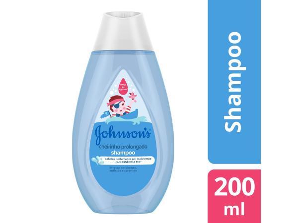 Shampoo Infantil Johnsons Baby - Cheirinho Prolongado 200ml