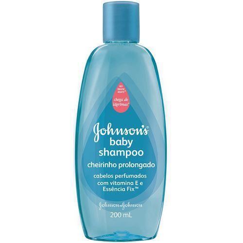 Shampoo Infantil Johnsons Baby Cheirinho Prolongado 200ml