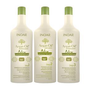 Shampoo Inoar Argan Oil Keratin System Step 1 - 1000ml