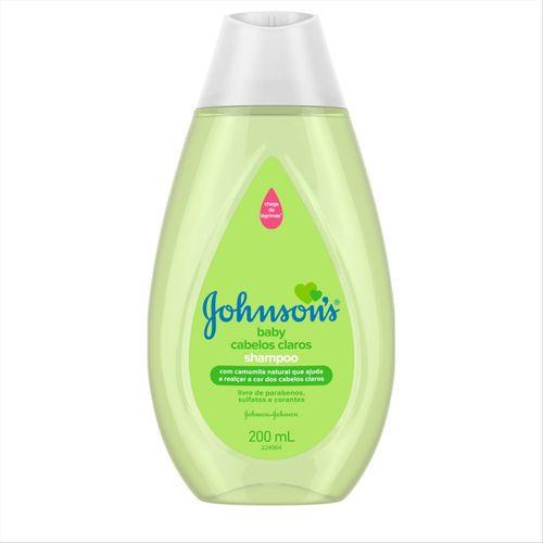 Tudo sobre 'Shampoo Johnson´S Baby Cabelos Claros 200Ml'