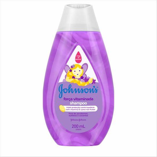 Shampoo Johnsons Força Vitaminada 200 Ml