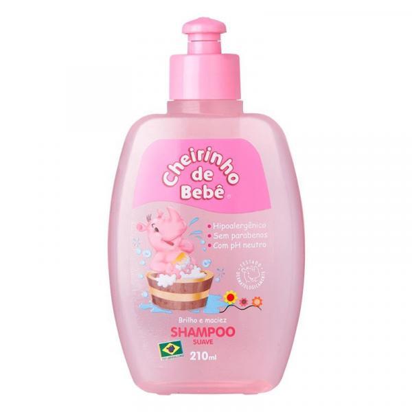 Shampoo Kanitz Cheirinho Bebê Rosa 210ml - Cheirinho de Bebê