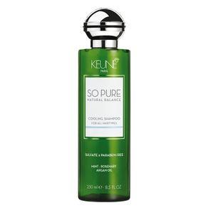 Shampoo Keune So Pure Cooling de Limpeza 250ml
