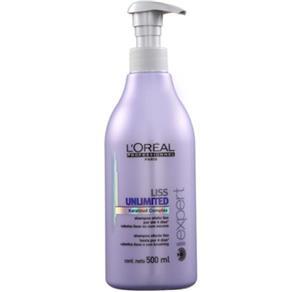Shampoo L´Oréal Professionnel Liss Unlimited 500ml