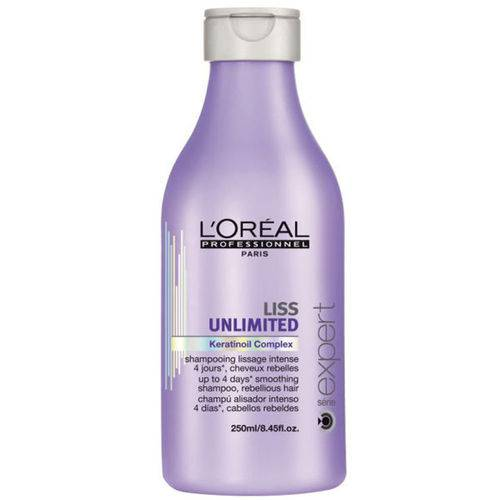 Shampoo Liss Unlimited - Loréal 250ml