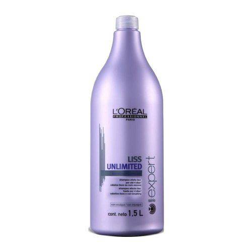 Shampoo Liss Unlimited Loréal Professionnel 1,5l