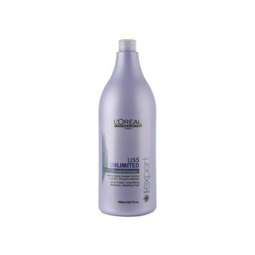 Shampoo Lóreal Liss Unlimited 1500ml