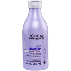 Shampoo Lóreal Liss Unlimited - 250 Ml