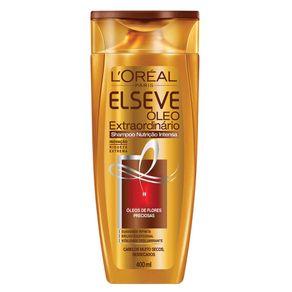 Shampoo L'Oréal Paris Elseve Óleo Extraordinário Nutrição Intensa 400ml