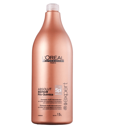 Shampoo Loreal Profissional Absolut Repair Pos Quimica 1500ml