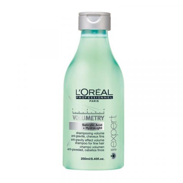 Shampoo Loreal Volumetry Salicylic Acid + HydraLight 250ml