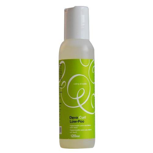 Shampoo Low-Poo Deva Curl - Shampoo Hidratante 120ml