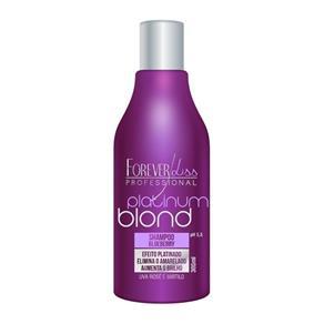 Shampoo Matizador Platinum Blond Forever Liss 300ml