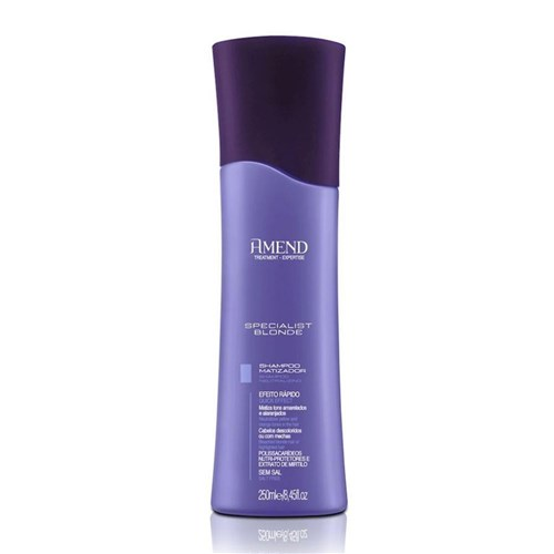 Shampoo Matizador Specialist Blonde Amend 250Ml