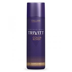 Shampoo Matizante Itallian Trivitt Color Blonde 1l