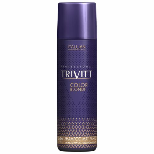 Shampoo Matizante Itallian Trivitt Color Blonde 250ml