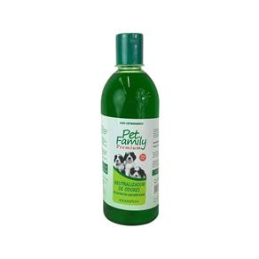Shampoo Neutro Pet Family 500 Ml