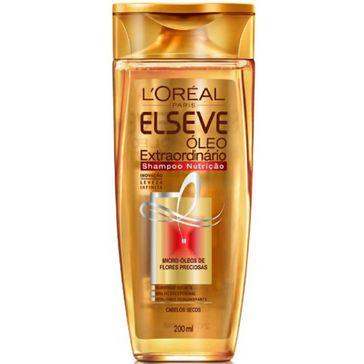 Shampoo Nutrição Óleo Extraordinário Elseve 200ml