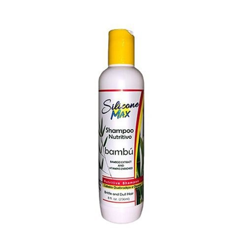 Shampoo Nutritivo Bambu Silicone Max 236Ml