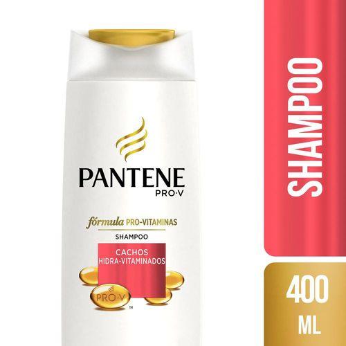 Shampoo Pantene Cachos Hidra-Vitaminados 400ml Shampoo Pantene Cachos Definidos 400ml
