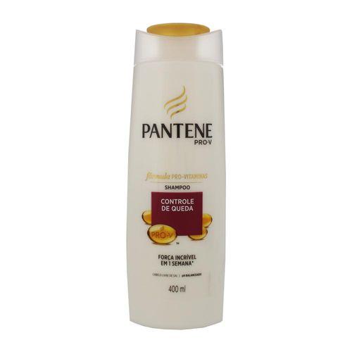Shampoo Pantene Controle de Queda 400ml Shampoo Pantene Pro-V Controle de Queda 400 Ml