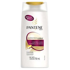 Shampoo Pantene Controle de Queda - 750 Ml