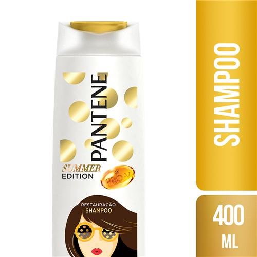 Shampoo Pantene Summer Edition Restauração com 400ml