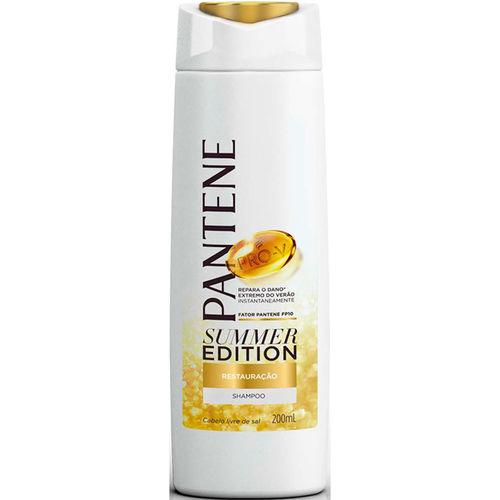 Shampoo Pantene Summer Restauração 200ml