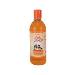 Shampoo Pessego Pet Family 500 Ml