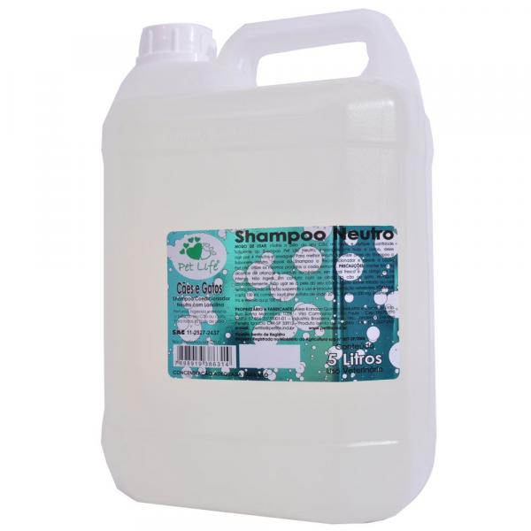 Shampoo Pet Life Neutro - 5 Litros