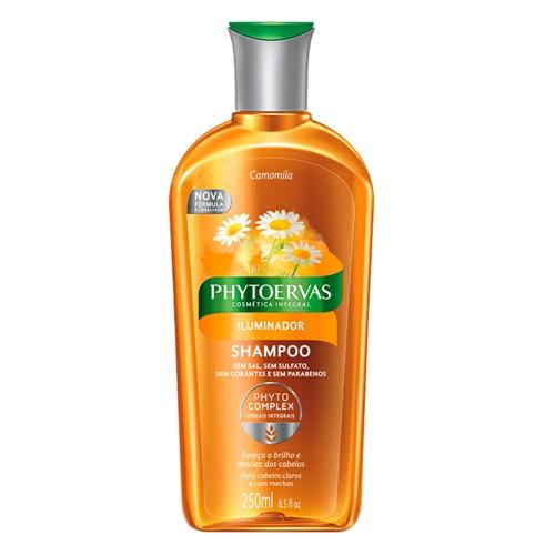 Shampoo Phytoervas Iluminador Sem Sal com 250ml