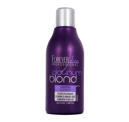 Shampoo Platinum Blond 300ml - Forever Liss Professional
