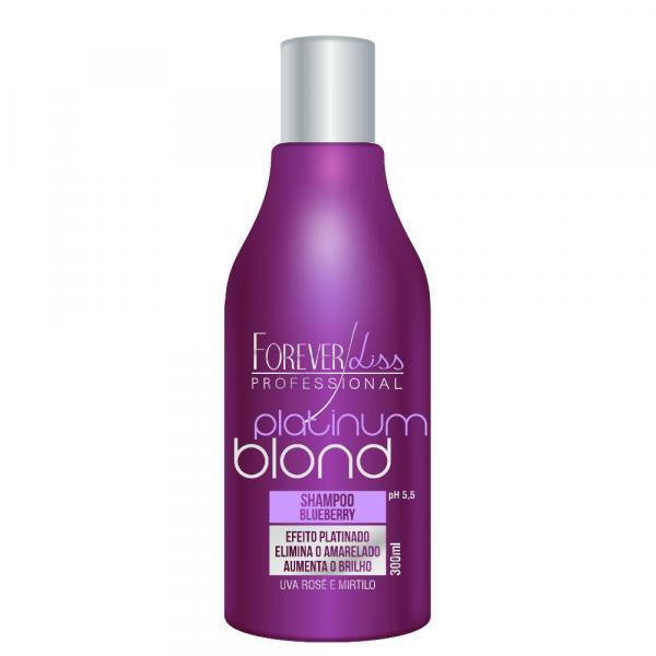 Shampoo Platinum Blond Matizador 300ml Forever Liss