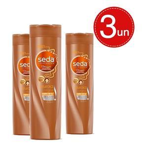 Shampoo Seda Keraforce - 3 Unidades - 325 Ml